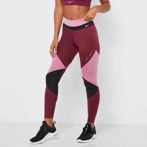 New Nike Women's Nike One 7/8 Colorblock Tights
